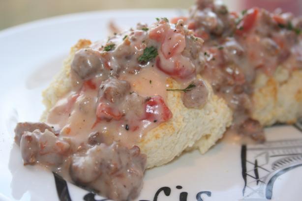 Sausage Tomato Gravy