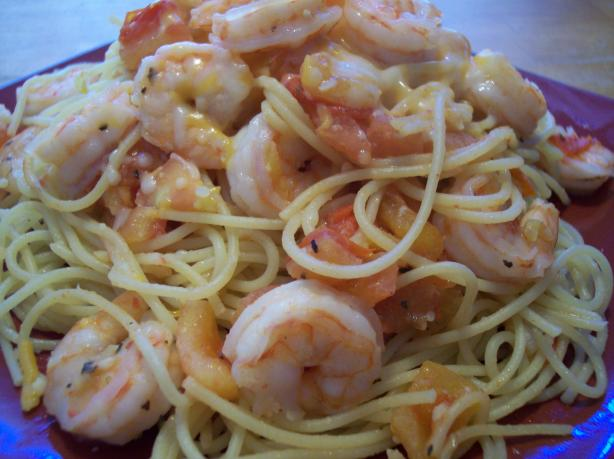 Scampini Spaghettini a La Japonaise