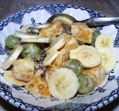 Creamy Orange Sauced Fruit Salad