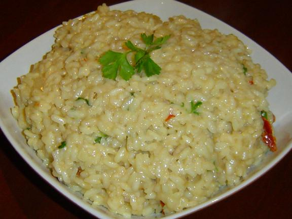 Risotto With Sun-Dried Tomatoes