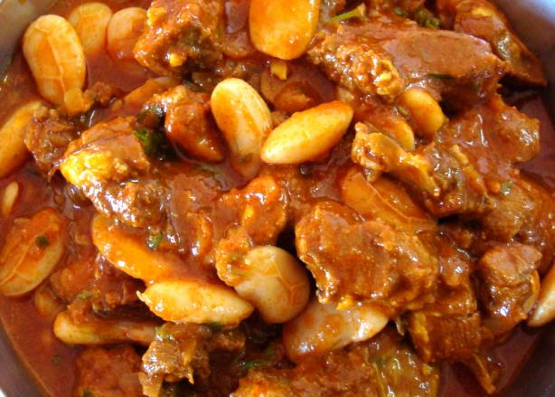 Lamb and Butter Bean Curry