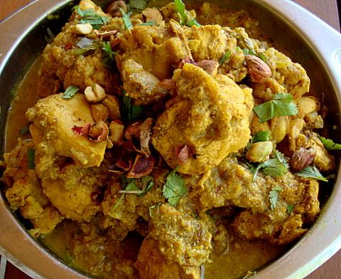 The Maharaja's Chicken Curry