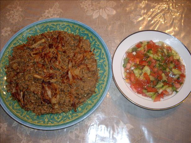 Lentils Couscous Recipe