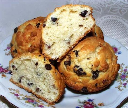 Coconut Dark Chocolate Chip Scones