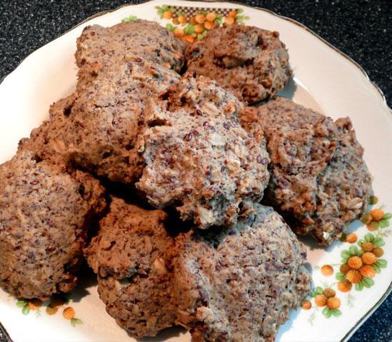 Flax Oatmeal Cookies
