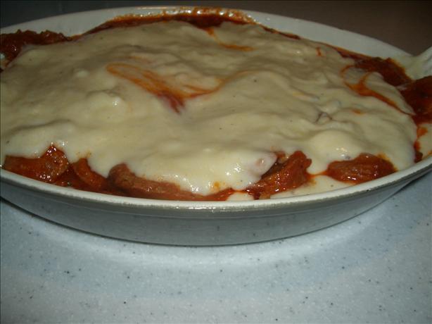 Polenta With Italian Sausage