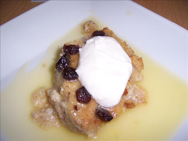 Rogene's Bread Pudding With Vanilla Sauce