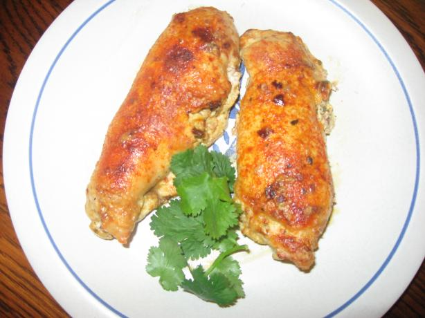 Chicken With Homemade Herb Cheese