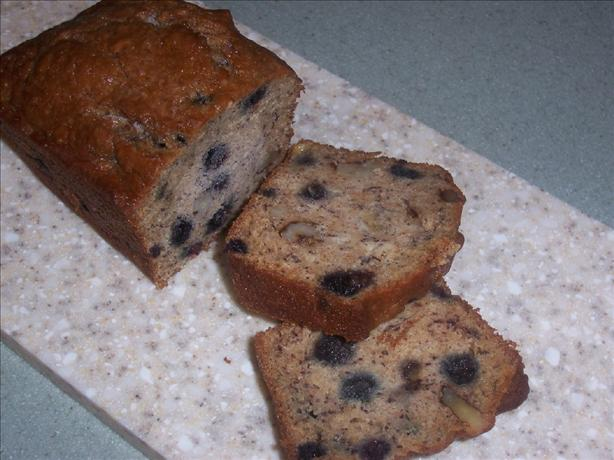 Sarah's Blueberry Banana Bread