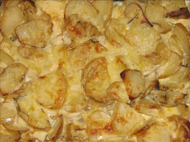 Julienne Scalloped Potatoes