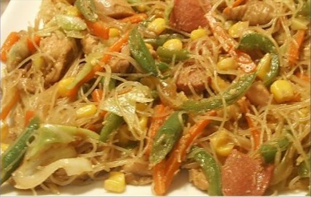 Rice Noodles (Bihon) Guisado