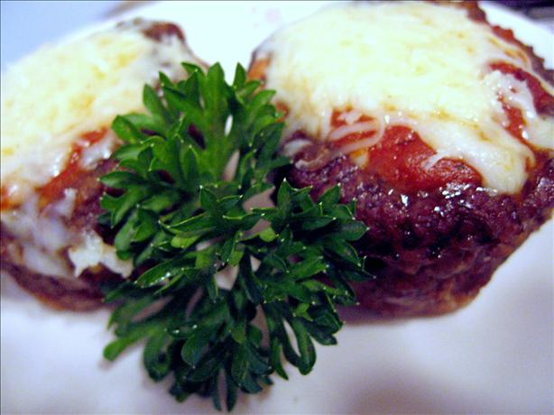 Mini Pizza Meatloaf's