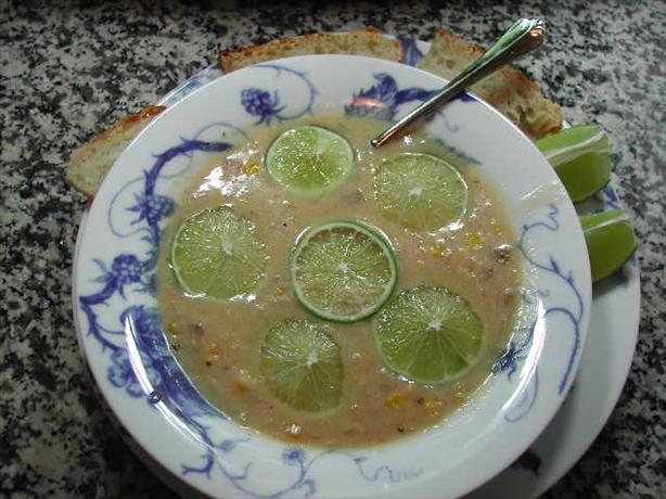 Bolivian Corn Chowder