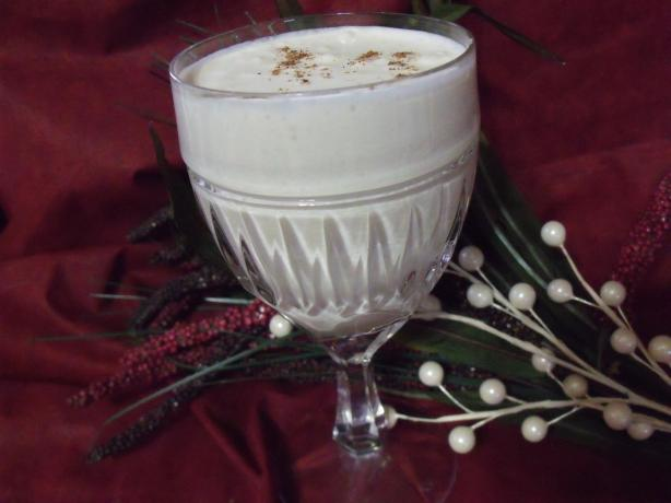 Syllabub (Cider With Whipped Cream)