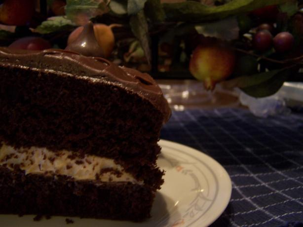 Chocolate Peanut Torte