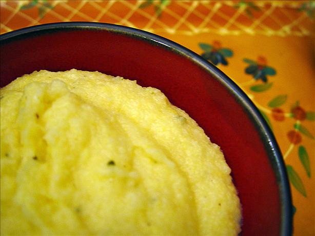 Herbed Cheese Polenta