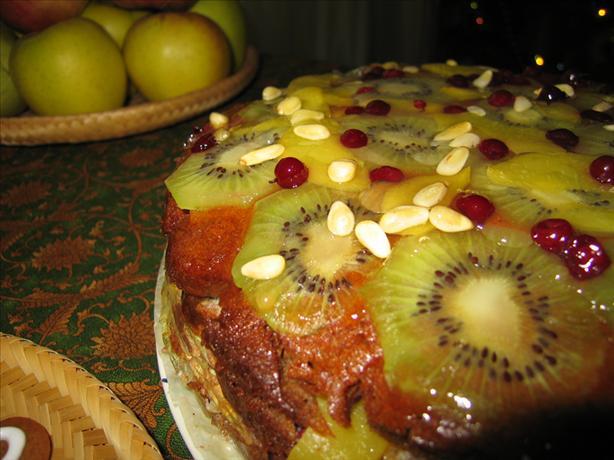 Exotic Fruits Cake