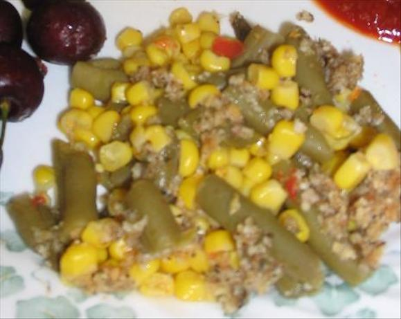 Parmesan Encrusted Fiesta Veggies