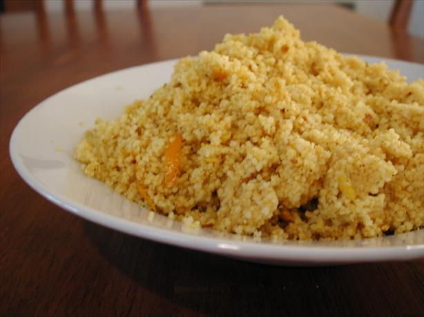 Spicy Citrus Couscous