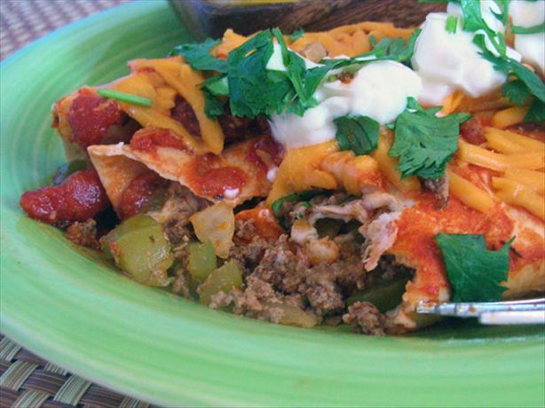 Chorizo Enchiladas