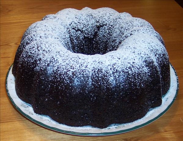Chocolate Zip (Bundt) Cake