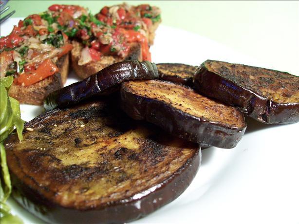 Eggplant (Aubergine) Croutons