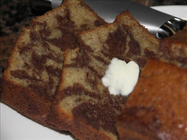 Black-And-White Banana Loaf