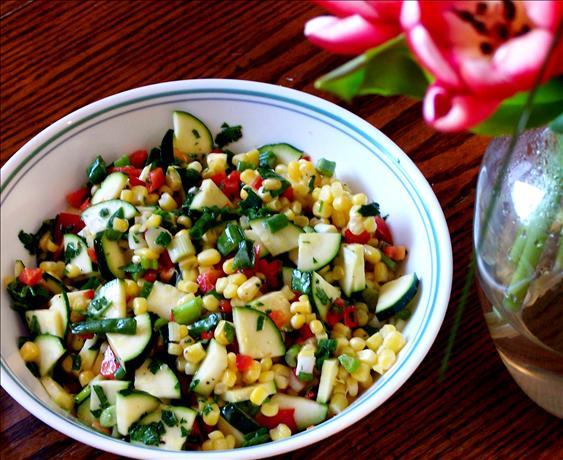 Picnic Corn-Zucchini Salad