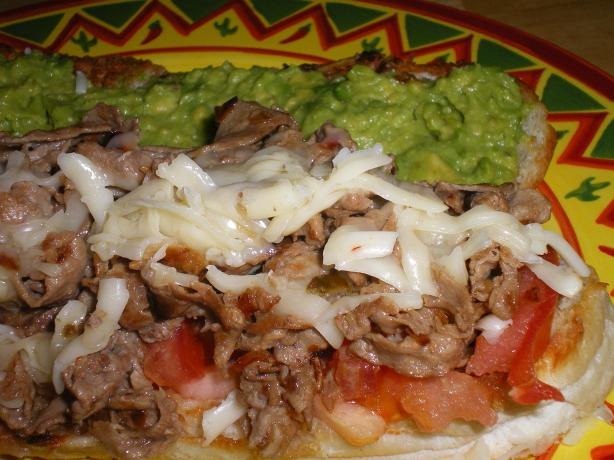 Tex-Mex Cheesesteaks