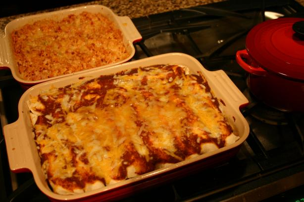 Awesome Beef Enchiladas