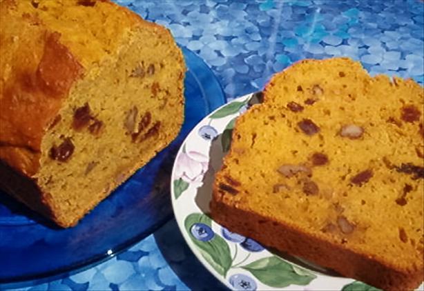 Orange Date Pumpkin Bread