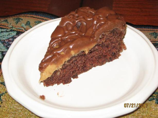 Peanut Butter and Chocolate Melt Away Cake