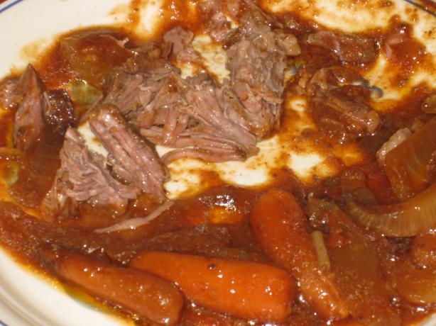 Slow-Cooked Braised Oven Short Ribs