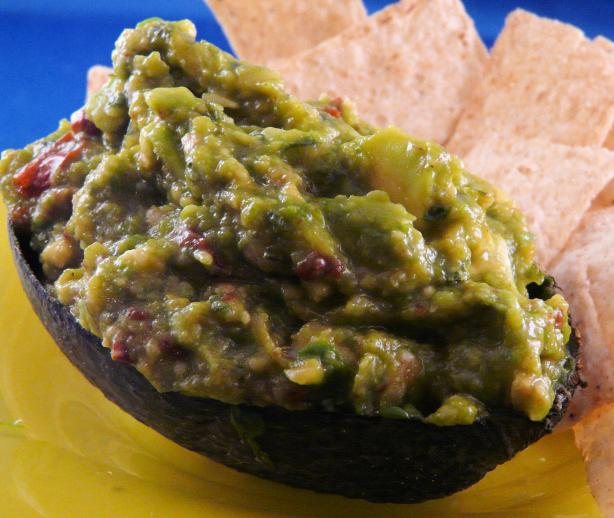Chipotle Orange Guacamole
