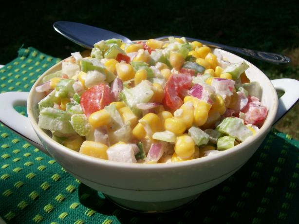 Easy Corn Salad