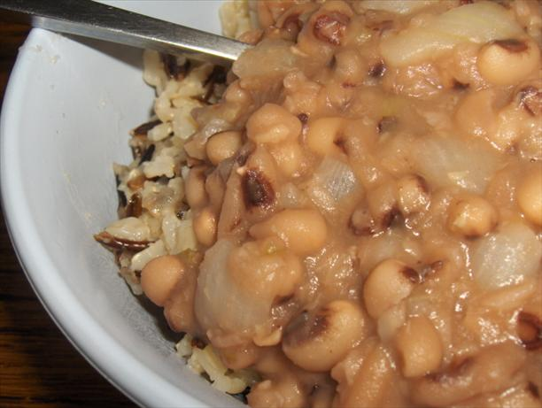 Simple Vegetarian Hoppin' John