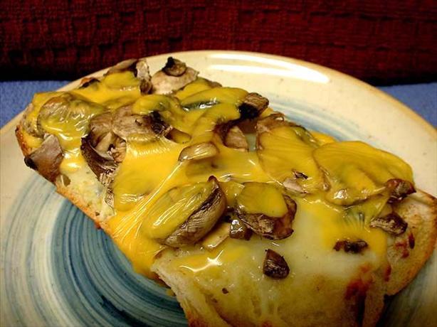 2-Cheese Mushroom Toast