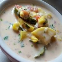 Calabacitas Cheese Soup
