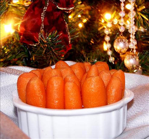 Glazed Gingered Carrots With Southern Comfort