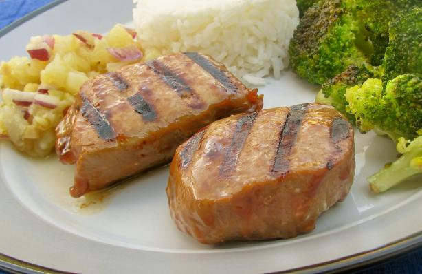 Teriyaki Ginger Grilled Ahi