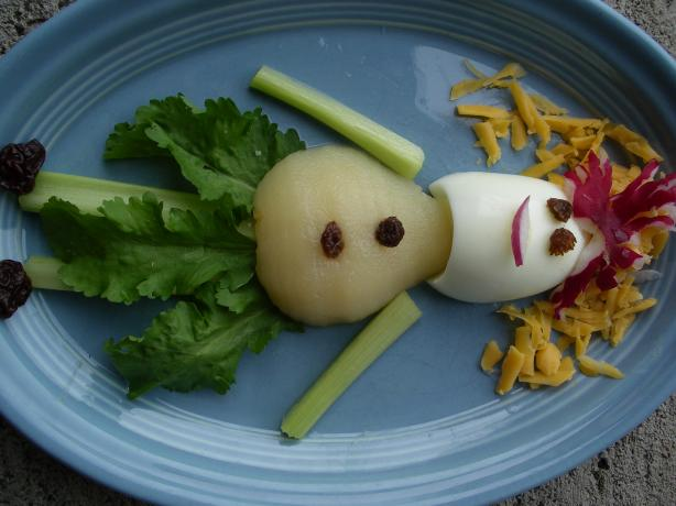 Raggedy Ann Salad--Just for Kids