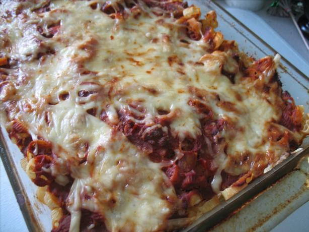 Layered Mac 'n Cheese Italiano