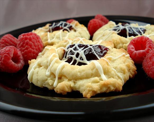 White Chocolate Raspberry Cookies