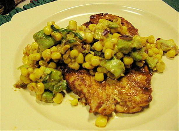 Taco Chicken With Corn Salsa