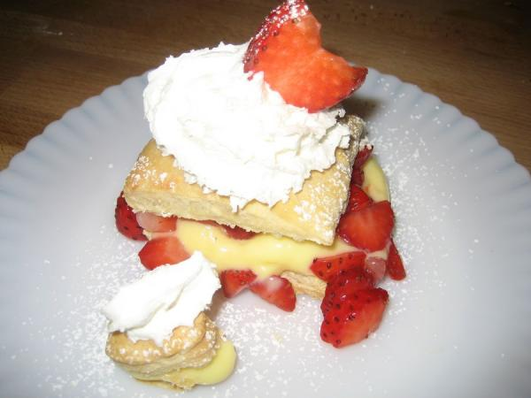 Best Ever Strawberry Napoleons