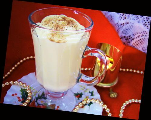 Lighter Eggnog Pudding