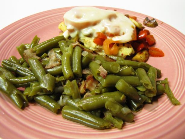 Southern Green Beans & Bacon