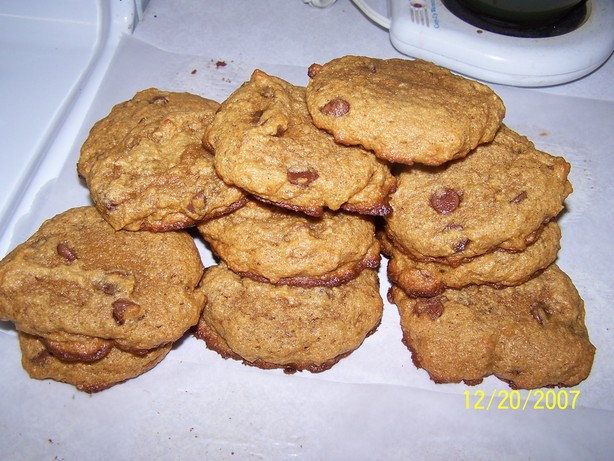 Persimmon Banana Cookies