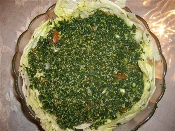 Tabule (Arabic Salad) - Tabbouleh
