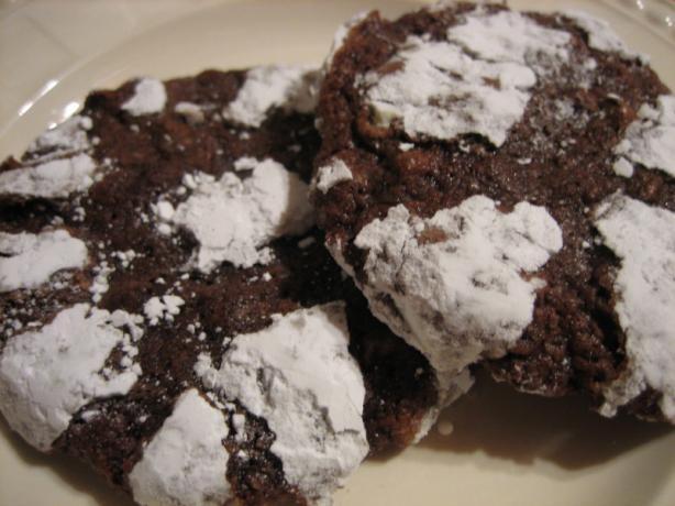 Black Forest Crinkle Cookies